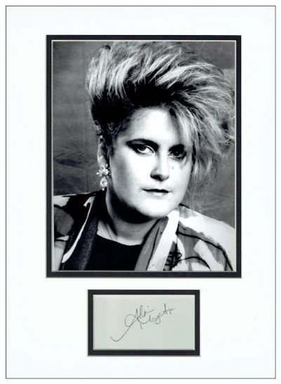 Alison Moyet Autograph Signed Display
